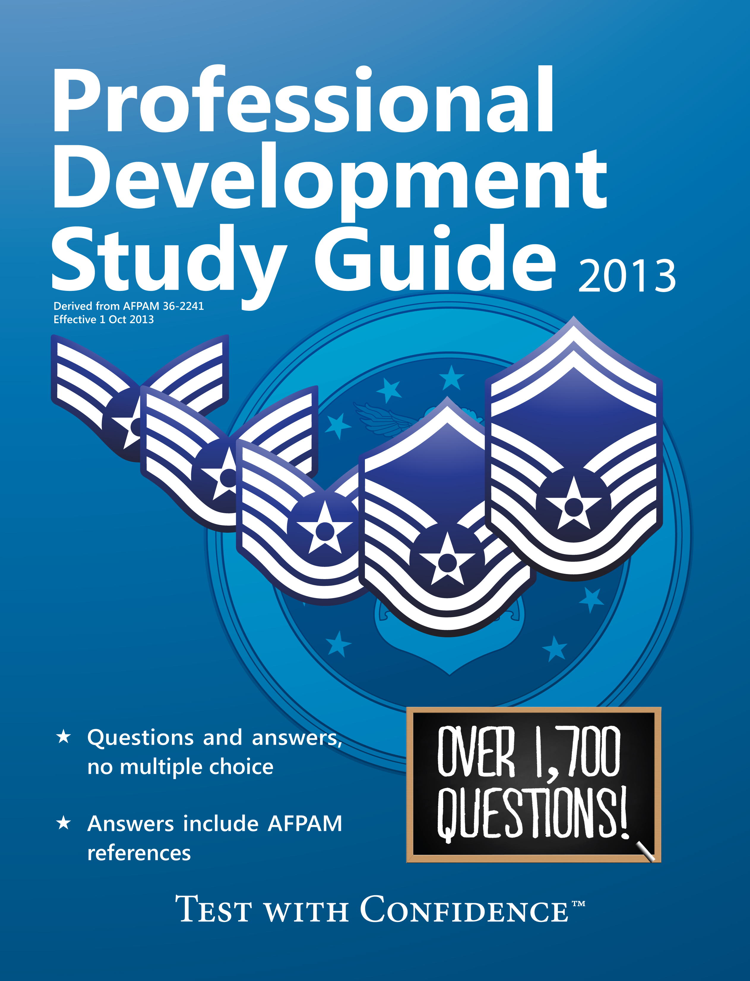 Air Force Professional Development Study Guide 2013 Edition, PFE, USAFSE