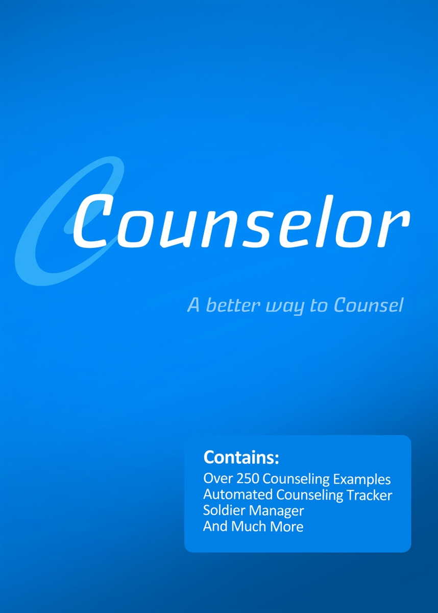 Counselor: Army Counseling Software
