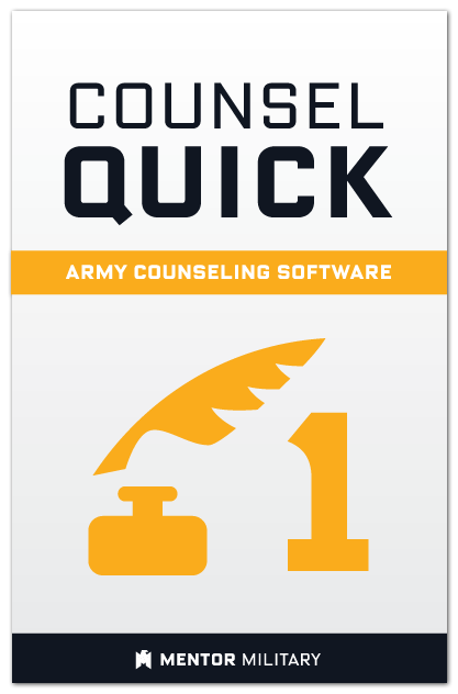 Counsel Quick: Volume 1 US Army Counselling Preparation Software (Windows)