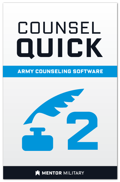 Counsel Quick: Volume 2 US Army Counselling Preparation Software
