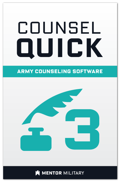 Counsel Quick: Volume 3 US Army Counselling Preparation Software