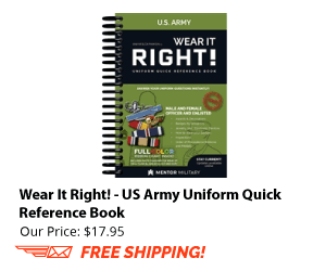 Wear it Right! Army Uniform Guide