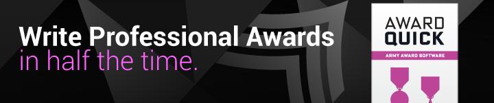 Award Quick: Army Award Writing Software