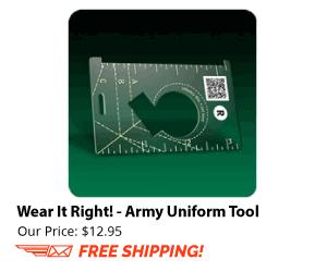 Wear it Right! Army Uniform Tool