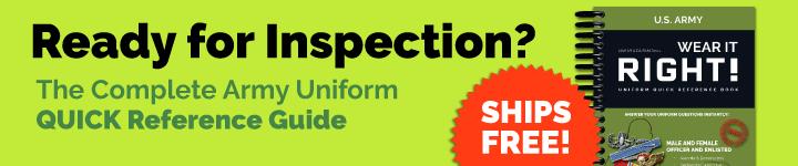 Wear it Right! Army Uniform Guide